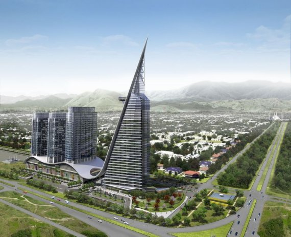 The Centaurus Tower Islamabad: A 37 Story Complex symbolises the growth of Pakistan