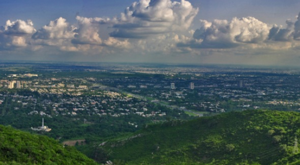 Islamabad: Top View from Peer Sohawa | Photographed by Imran Shabbir