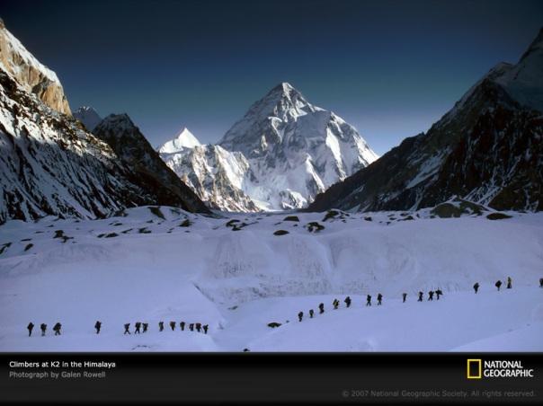 Pakistan: K2 the 2nd highest mountain peak in the World