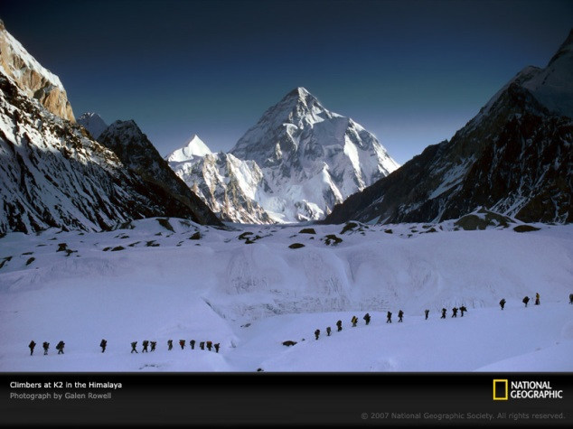 Pakistan: K2 the 2nd highest mountain peak in the World