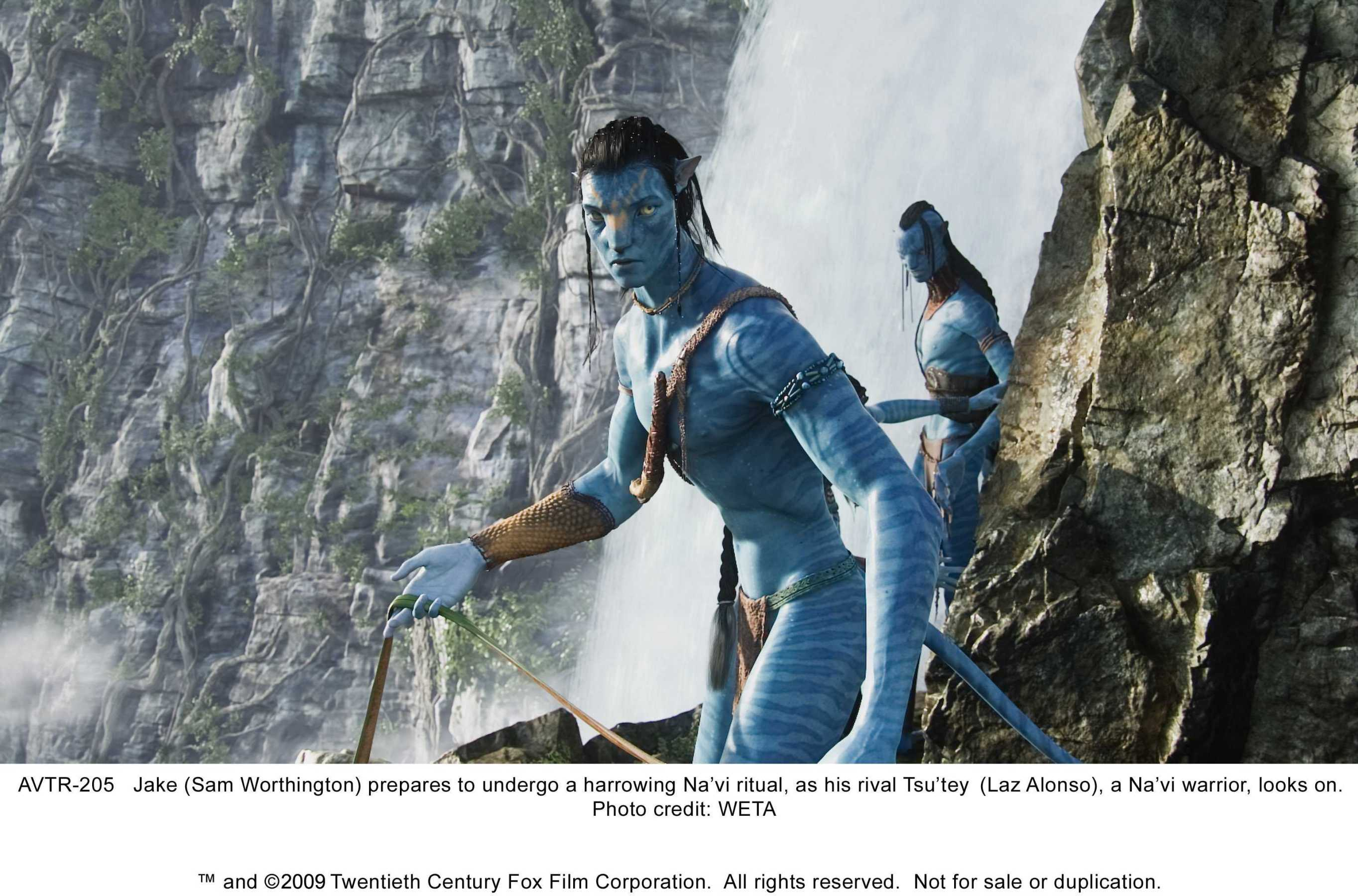The Movie Avatar 2009 with a